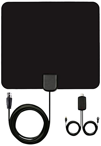 HDTV Antenna 50 Miles Digital Long Range 1080P Indoor Digita