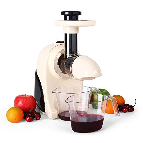 Klarstein Fruitpresso Moreno - Centrifugeuse Slow Juicer - Séparation du jus et...