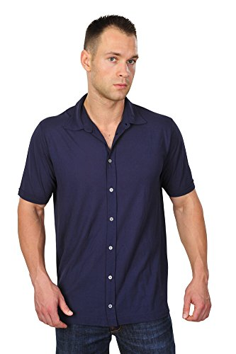Zanone Polo Poloshirt Herren Blau Baumwolle Casual 58