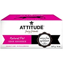 ATTITUDE Natural Pet Odor Absorber, Coconut Lime, 8 Ounce