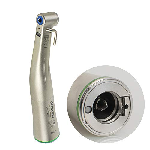 zinnnor Dental Implant 20:1 Reduction Fiber Optic LED Push Button Contra Angle Handpiece Tool by zinnnor (Image #1)