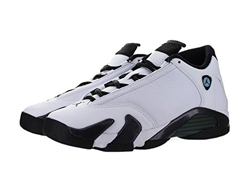 Air Jordan 14 Retro Sneakers (Nike Air Jordan 14 Retro GS White/Black 487524-106 (SIZE: 6.5Y))