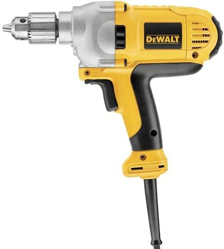 DEWALT Electric Drill, 1 2-Inch, Variable Speed Reversible, Keyed Mid Handle DWD216G