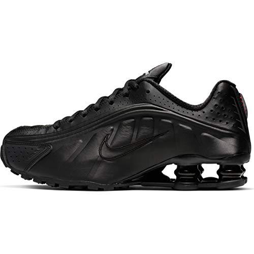 - Nike Shox R4 (Black/Black MAX - Orange 8W)