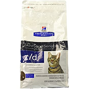 Amazon Com Hills Z D Low Allergen Cat Food 4 Lb Dry