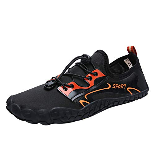Willow S Unisex Quick-Dry Water Shoes Pool Beach Swim Drawstring Shoes Creek Diving Shoes Black