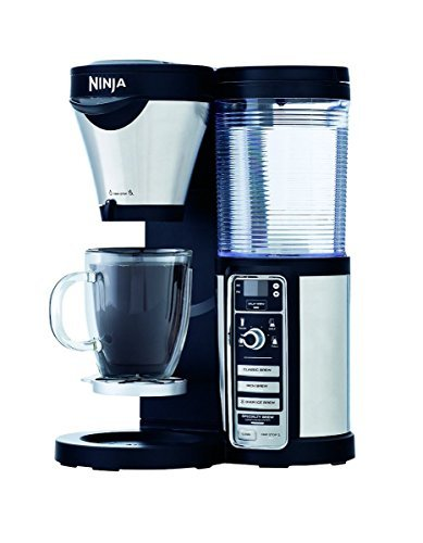 - Ninja Coffee Maker, Bar Brewer Style with 4 Brew Size Options, From Single Cup to 10 Cup Stainless Steel Carafe, and 4 Brew Styles Including Hot or Iced Specialty Coffees