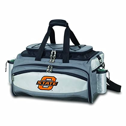 Image of Barbecue Tool Sets NCAA Oklahoma State Cowboys Vulcan Tailgating Cooler/Grill
