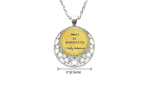 dwell in possibility Gift for Grad Graduation Jewelry,AS0271