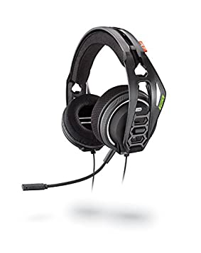 Plantronics RIG 400HX Binaural Diadema Negro Auricular con micrófono - Auriculares con micrófono (Consola de