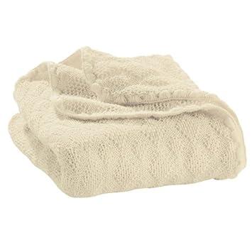 Disana Couverture pour bébé en laine mérinos