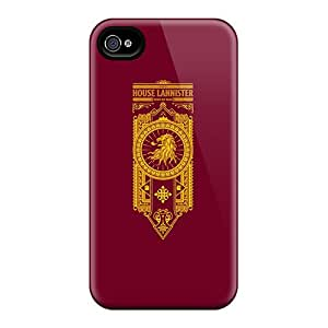 JacquieWasylnuk Apple Iphone 4/4s Great Hard Cell-phone Cases Allow Personal Design High-definition House Lannister Skin [VBK2833JLTv]