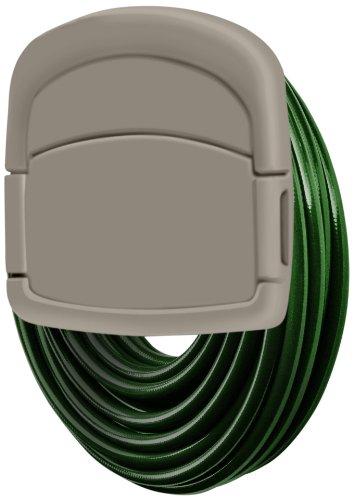 Wall Mounted Garden Hose Storage Caddy - 150-Foot Capacity for Standard 5/8