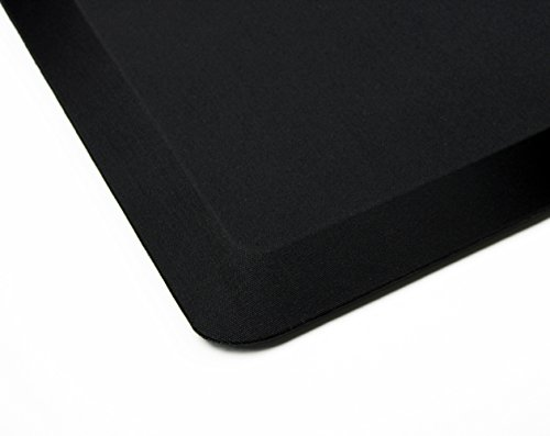 AFS-TEX System 3000, Anti-Fatigue Mat, Designed for Standing Desk Use, Carbon Black, 20'' x 39'' (FC35199ABM) by Floortex (Image #1)