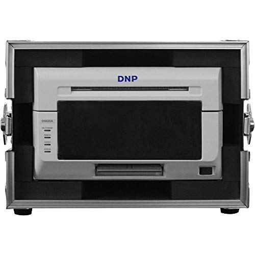 DNP DS620A Compact Professional Event & Photo Booth Portrait Digital Printer with Odyssey Innovative Designs Flight Zone Hard Case (Black/Chrome) by DNP (Image #5)