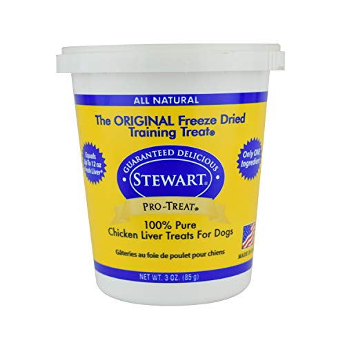 (Stewart Freeze Dried Treats 3 oz Chicken Liver)