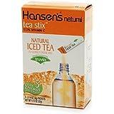 Hansen's Tea Stix Drink Mix, Iced Tea, 8-Count Stix (Pack of 12)