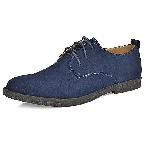 1244cc36950 Fangsto - Zapatos de ante para hombre