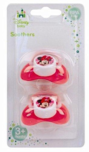 Disney Baby - Chupetes chupetes - Dummy Set x 2 Pink (Minnie ...