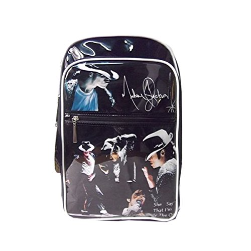 Commemorate Michael Jackson Billie Jean Backpack PVC Bag (Michael Jackson Backpack)