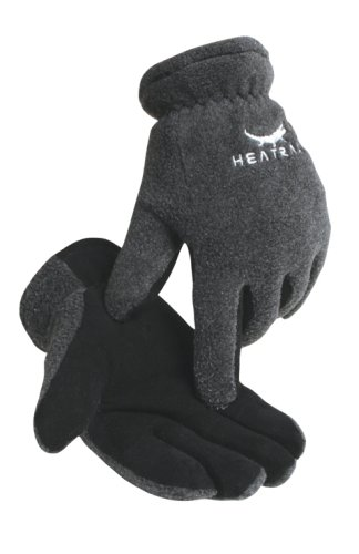Ultra-soft Suede Deerskin Palm/fleece Back Thermal Lined Gloves for All Ages