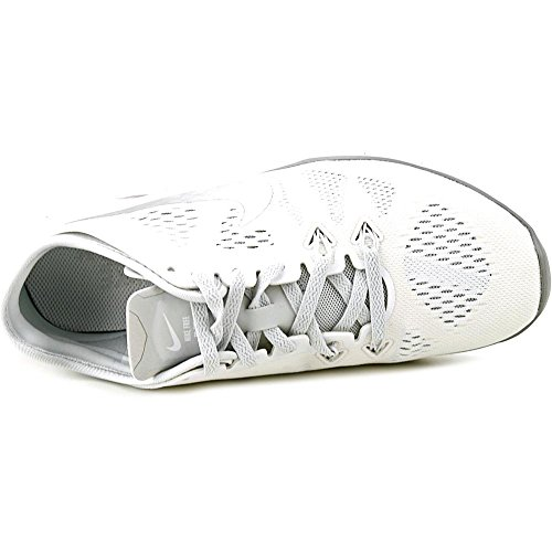 Nike Free TR 5, Women's Fitness Shoes - WHITE/METALLIC SILVE