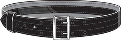 "Safariland 87V-34-6 Lined 2.25/"" Duty Belt Plain Nickel Buckle 34/"""