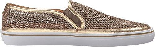 Kate Spade New York Donne Moda Maglia Sallie Sneaker Oro Metallico / Nappa