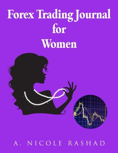 41XXwhIKBvL - Forex Trading Journal for Women: (4 trades/page, 180 trade pages) (8.5 x 11) Purple