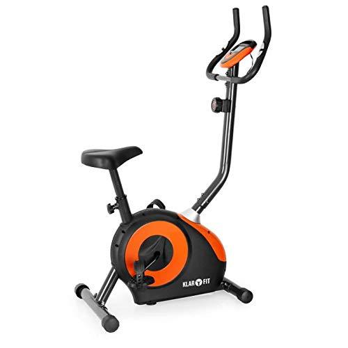 Klarfit MOBI-FX-250 - Bicicleta estática, Monitor de Entrenamiento, Pulsómetro, Pedales Antideslizantes, Asiento ergonómico, Empuñaduras Acolchadas, Soporta hasta 100kg a buen precio