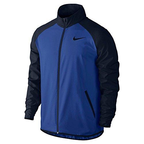 Nike Mens Dri-Fit Team Jacket, L, Blue