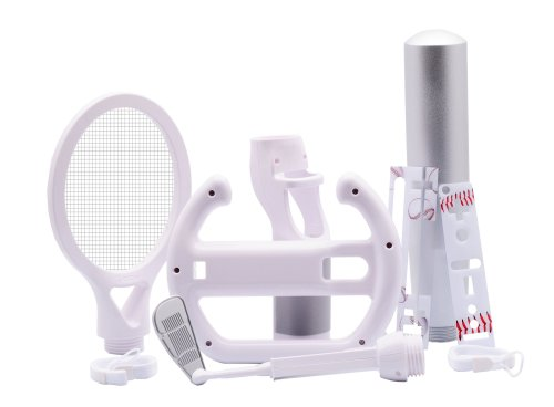 10 in 1 Sports Kit White for Wii (Icon 2 Handle)