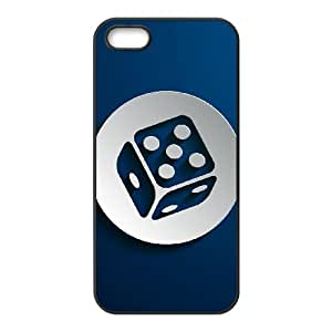 New Style Dice Image Phone Case For iPhone 5,5S