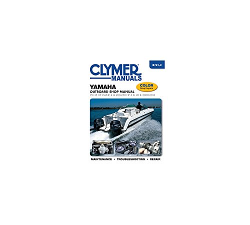 Yamaha Four-Stroke Outboards 75-225 HP 2000-2004 (CLYMER, used for sale  Delivered anywhere in USA