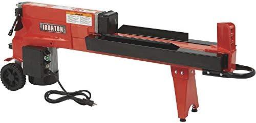 Ironton Horizontal Electric Log Splitter – 5-Ton, 15 Amp, 120V Motor