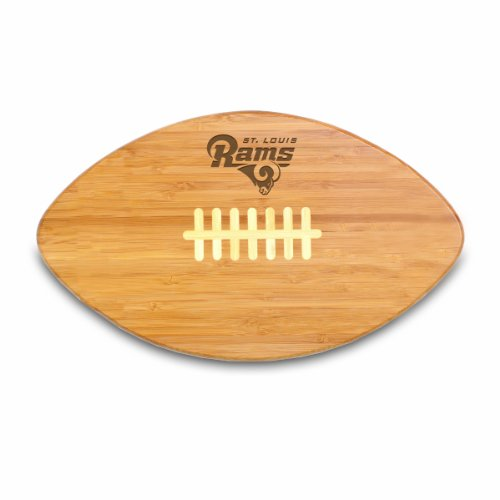 Wood St Louis Rams Football (NFL Touchdown Pro Engraved Board NFL Team: St. Louis Rams)