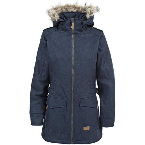 Blu Navy Everyday Impermeabile Lunga Giacca Trespass Donna CwAzaqZfx