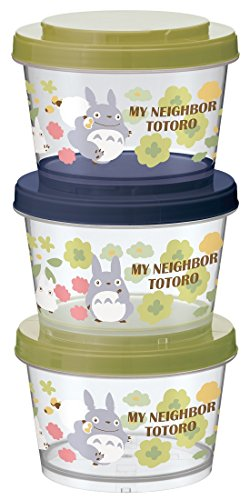 Studio Ghibli My Neighbor Totoro Joint Type Storage Container Set (3 Piece) by Skater