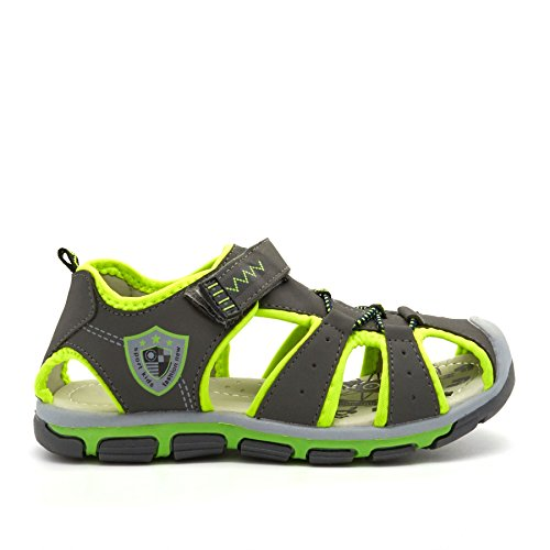 New Boys Kids Casual Sandals Summer Beach Sports Walking Touch Fasten Strap  UK 7-12: Amazon.co.uk: Shoes & Bags