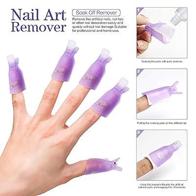 Teenitor Nail Polish Gel Remover Tools Kit