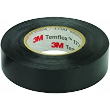 3M Temflex 1700 Electrical Tape 60 Feet 10-Pack