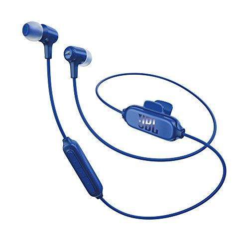 JBL E25BT Bluetooth In-Ear Headphones Blue by JBL
