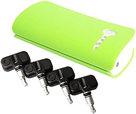 Universelle Bluetooth Auto Reifendruck Kontrollsystem Led Anzeige 4 Interne Sensoren Tpms Autozubehör Diy Reifendruck Messgerät Auto