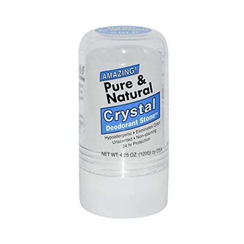 Thai Deodorant Stone Pure And Natural Crystal Deodorant Stone -- 4.25 oz - Thai Natural