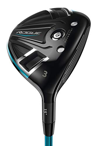 Callaway Pre Owned - Callaway Rogue SZ, Fairway Tour 15° Wood, Graphite, Stiff (Renewed)