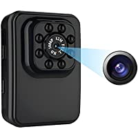 Mini Camera Small Hidden Camera 1080P HD Sport Camera with IR Night Vision and Motion Detection Support live TV Broadcast,Portable Mini Video Camera