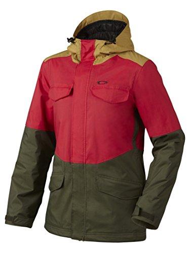 Oakley Women's Wazoo Bio Zone Insulated Jacket, Herb, - Ski Jacket Womens Oakley