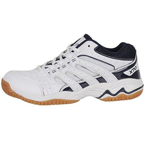 sintético XPD Weiß voleibol de blanco para material Sports Professional de mujer Blau Shoes Zapatillas xq8Ba6q