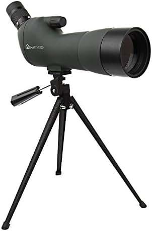 Emarth 20-60x60AE Waterproof Angled Spotting Scope with Tripod, 45-Degree Angled Eyepiece, Optics Zoom 39-19m/1000m Army Green