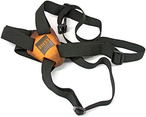 ZEISS Slide Flex Bino Strap System, Holds Binoculars Secure, Black
